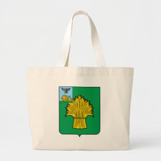 Coat_of_Arms_of_Rovenki_rayon Large Tote Bag