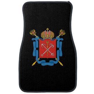 Coat of arms of Saint Petersburg Car Mat