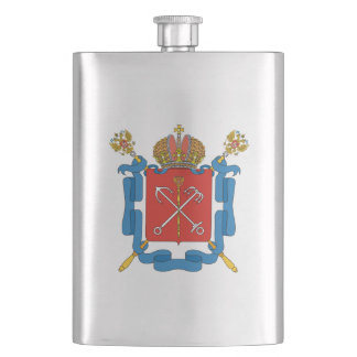 Coat of arms of Saint Petersburg Hip Flask