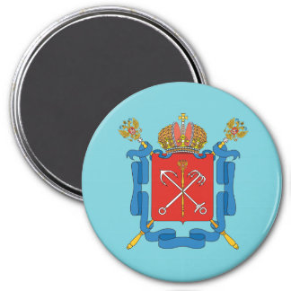 Coat of arms of Saint Petersburg Magnet