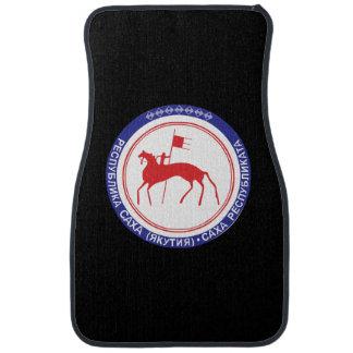 Coat of arms of Sakha Car Mat