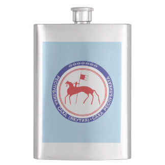 Coat of arms of Sakha Hip Flask