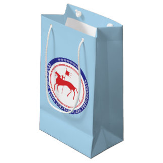 Coat of arms of Sakha Small Gift Bag