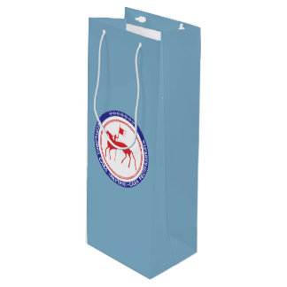 Coat of arms of Sakha Wine Gift Bag