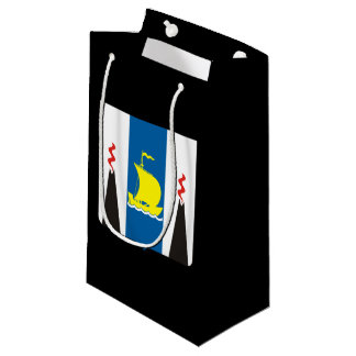 Coat of arms of Sakhalin oblast Small Gift Bag
