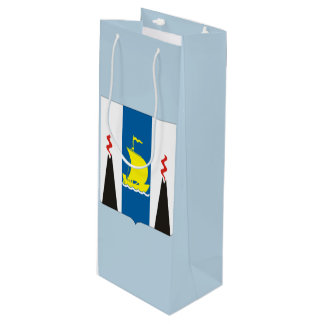 Coat of arms of Sakhalin oblast Wine Gift Bag