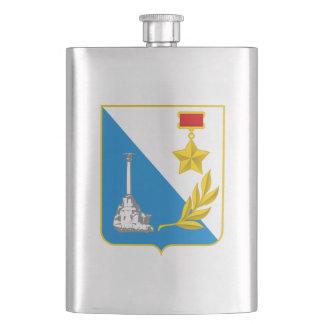 Coat of arms of Sevastopol Hip Flask