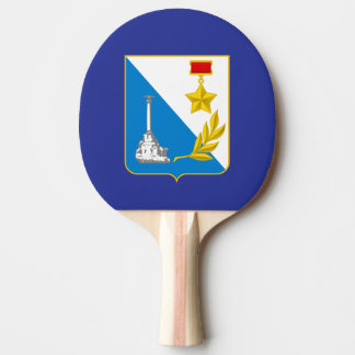 Coat of arms of Sevastopol Ping Pong Paddle