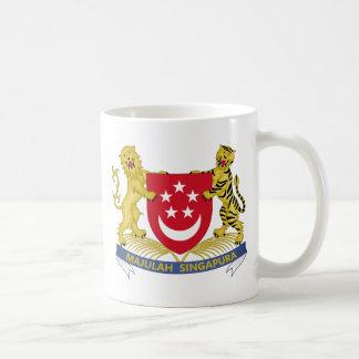 Coat of arms of Singapore 新加坡国徽 Emblem Coffee Mug