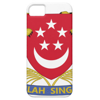 Coat of arms of Singapore 新加坡国徽 Emblem iPhone 5 Cover