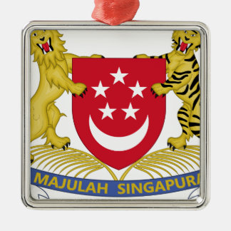 Coat of arms of Singapore 新加坡国徽 Emblem Metal Ornament