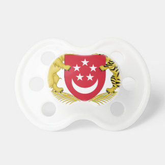 Coat of arms of Singapore 新加坡国徽 Emblem Pacifiers