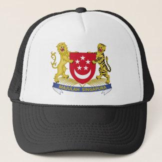 Coat of arms of Singapore 新加坡国徽 Emblem Trucker Hat