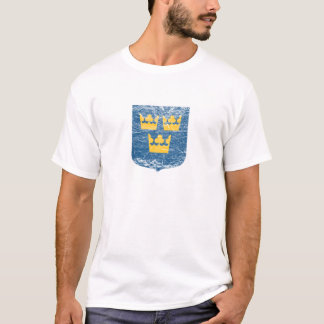 Coat of Arms of Sweden T-Shirt