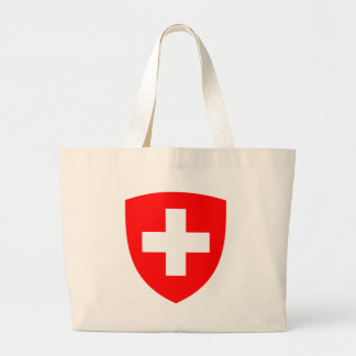 Coat_of_arms_of_Switzerland Large Tote Bag