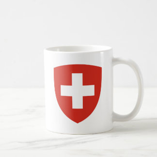 Coat of Arms of Switzerland - Wappen der Schweiz Coffee Mug