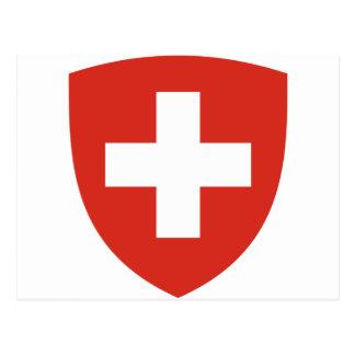 Coat of Arms of Switzerland - Wappen der Schweiz Postcard