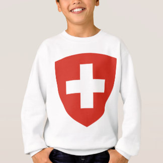 Coat of Arms of Switzerland - Wappen der Schweiz Sweatshirt