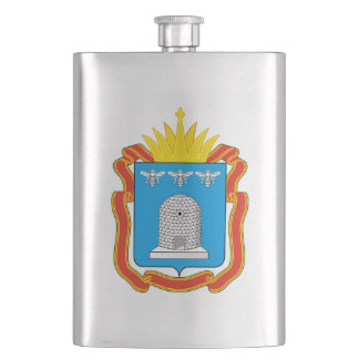 Coat of arms of Tambov oblast Hip Flask
