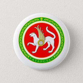 Coat of arms of Tatarstan 6 Cm Round Badge