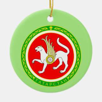 Coat of arms of Tatarstan Ceramic Ornament
