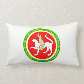 Coat of arms of Tatarstan Lumbar Cushion