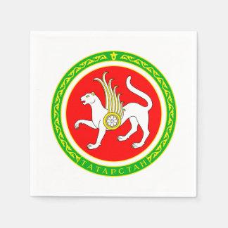 Coat of arms of Tatarstan Paper Napkin
