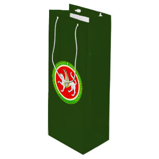 Coat of arms of Tatarstan Wine Gift Bag