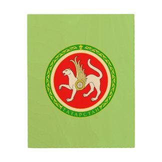 Coat of arms of Tatarstan Wood Wall Decor