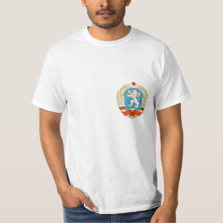 Coat of Arms of the Communist Bulgaria T Shirts