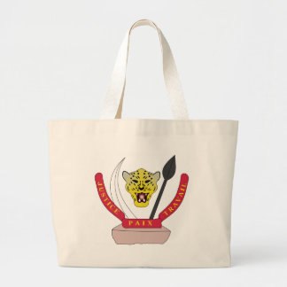 Coat_of_arms_of_the_Democratic_Republic_of_ Large Tote Bag