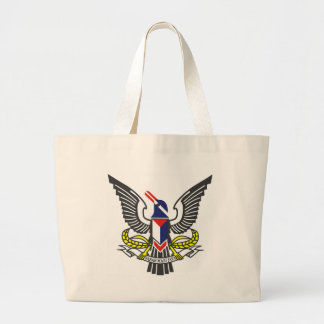 Coat_of_arms_of_the_Federated_Malay_States (2) Large Tote Bag