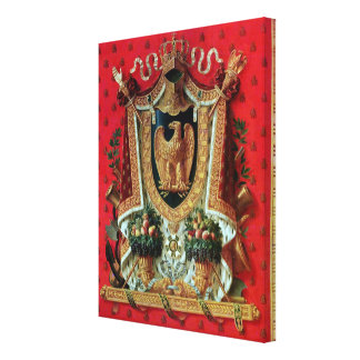 Coat of Arms of the French Empire Canvas Print