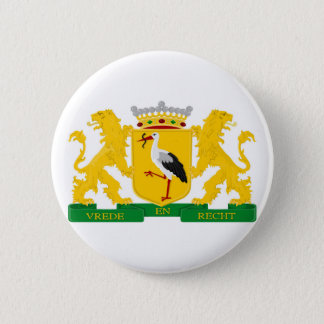 Coat of arms of The Hague 6 Cm Round Badge