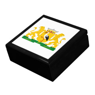 Coat of arms of The Hague Large Square Gift Box