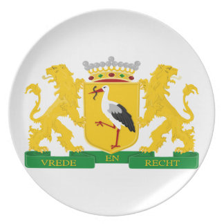 Coat of arms of The Hague Plate