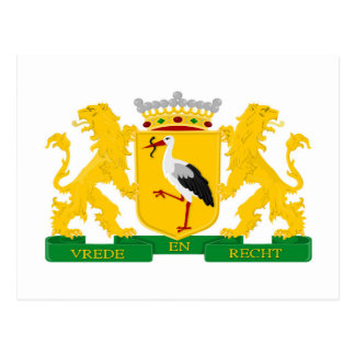 Coat of arms of The Hague Postcard