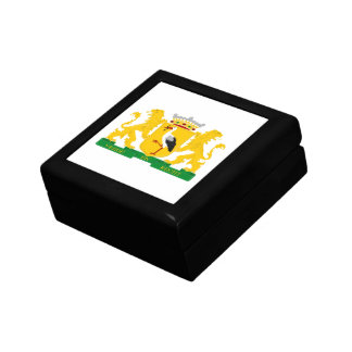 Coat of arms of The Hague Small Square Gift Box