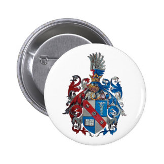 Coat of Arms of the Ludwig Von Mises Family 6 Cm Round Badge