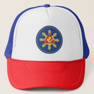 Coat of Arms of the President of the Philippines. Trucker Hat