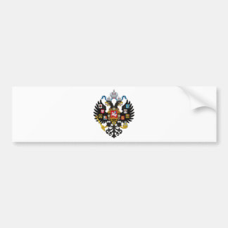 Coat of Arms of the Russian Empire Bumper Sticker