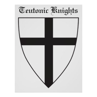 Coat of arms of the Teutonic Order Poster