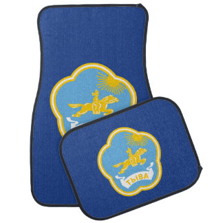 Coat of arms of Tuva Car Mat