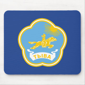 Coat of arms of Tuva Mouse Pad