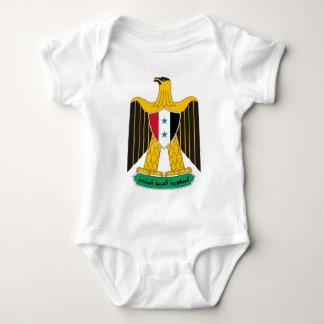 Coat_of_arms_of_United_Arab_Republic_(Syria Baby Bodysuit