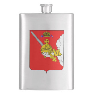 Coat of arms of Vologda oblast Hip Flask