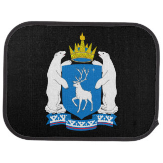 Coat of arms of  Yamal-Nenetsia Car Mat