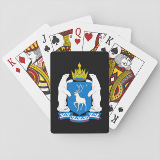 Coat of arms of  Yamal-Nenetsia Playing Cards