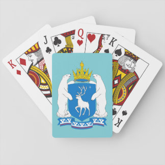 Coat of arms of  Yamal-Nenetsia Playing Cards