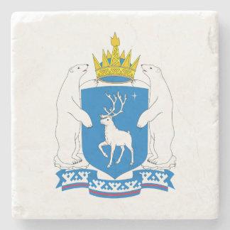 Coat of arms of  Yamal-Nenetsia Stone Coaster